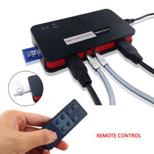 HDMI/YPBPR/AV Video Capture Card 1080P HD Game Recorder Device Save into SD Card
