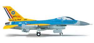 HE555043 HERPA WINGS USAF F-16C 1/200 TEXAS ANG 111TH FS 90TH ANNIVERSARY