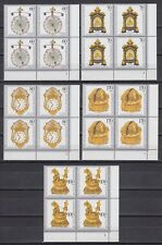 Germany federal BRD 1992 ** mi.1631/35 bienestar relojes Watches [vd018]
