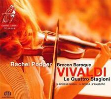 Rachel Podger Brecon Baroque - Vivaldi: Le Quattro Stagioni (The Four (NEW SACD)