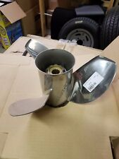 Michigan Wheel 21 Pitch stainless steel Ballistic Propeller #335133