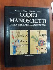 CODICI e MANOSCRITTI della Biblioteca Antoniana. Neri Pozza Editore. Volume 1