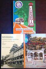 Carsonia Park, Neversink Mt & Pendora Park ALL THREE NEW BOOKS +BONUS