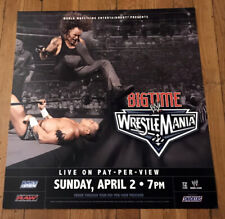 WWE WRESTLING THE UNDERTAKER WRESTLEMANIA 22 SUBWAY POSTER 21X21 INCHES