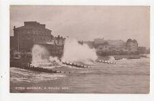 Bognor A Rough Sea 1913 RP Postcard  254a
