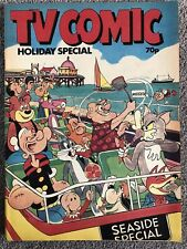 TV COMIC SUMMER HOLIDAY SPECIAL 1985 - Laurel & Hardy Pink Panther Tom Jerry