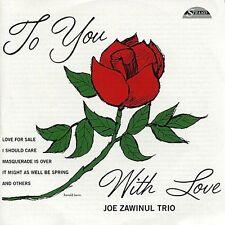 Joe Zawinul  TO YOU WITH LOVE