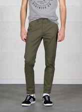 Pantaloni da uomo elasticizzato verde