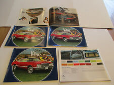 1978 Plymouth Volare Sales Brochures Lot of 5 pieces
