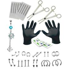 41 Pieces 14G /16G Combination of Various Models Body Piercing Kit