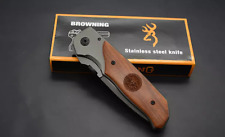BROWNING AIR FORCE DA30 – FOLDING POCKET KNIFE (FOR SURVIVAL/CAMPING/HUNTING)