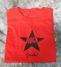 Fender Rock Star Kids T-Shirt  2 Super Cool Boys or Girls, Red 2T