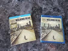 The Walking Dead Season 1 Blu Ray with slipcove Darryl Rick Carl Shane Glenn