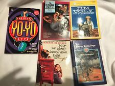 Lot Of 5 Young Readers Books Yo-yo, Hardy Boys,worst School Year, Johnny Long Le