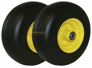 Set of (2) Wheel Assemblies 13x6.50-6 Replacements for John Deere TCA19309