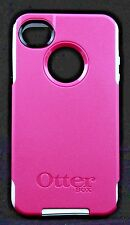 New OtterBox Commuter Series Case for Apple iPhone 4 & 4S - Pink/White 77-18549