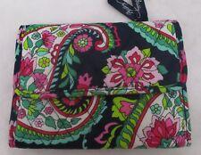 Vera Bradley Factory Exclusive  Euro Wallet Petal Paisley NWT