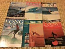 BULK LOT SURFING MAGAZINES AUSTRALIAN LONGBOARDING - LONGBOARDING