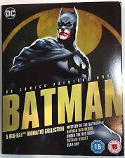 BATMAN Animated Collection 5-Film BLU-RAY Set Year One Gotham Knight Bad Blood