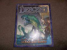 Fantasy Flight Games Descent Journeys in the Dark Sea of Blood Ocean Map Board