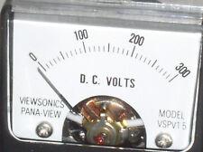 Vspv 15dc Mini 300v 300 V 200 100 Vdc Dc Volt Analog Panel Meter Voltmeter Usa