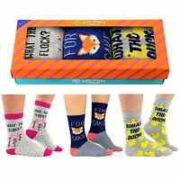 Cockney Spaniel I/'m Not Insulting You Bright Pink UK 4-8 Pair Womens Socks Gift