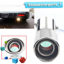 Car LED Exhaust Pipe Spitfire Red Light Flaming Muffler Tip Universal Wonderful