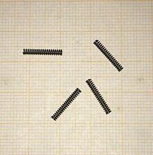 4 x Druckfeder, Länge 12,5mm, Außen Ø1,92mm, Drahtstärke 0,32mm, mini Druckfeder