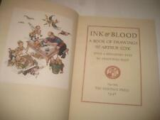 """Arthur Szyk – """"Ink and Blood"""" – Anti-Fascist Caricatures – New-York, 1946 SIGNED"""
