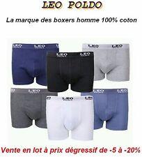 Boxer Homme 100% coton Lot de 12 à 24 Boxers homme garçon coton .. caleçon slip