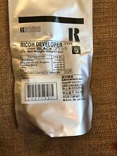 Genuine Ricoh Developer Type 5 Black 887733 500g/17.6oz Sealed Bag