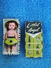 Miniature Arranbee Littlest Angel Doll In Box For Diorama