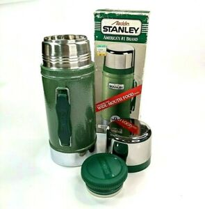 Vintage Aladdin Stanley A-1350B Wide Mouth Lunch Thermos Made In USA 24oz