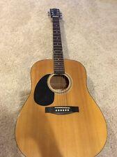 Johnson Dreadnaught Left Hand Guitar JG-610