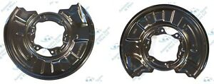For Mercedes C-Class C220 250 320 CDI Rear Brake Disc Dust Cover Back Plate Pair