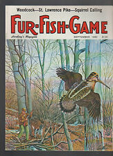 Harding's Fur Fish Game Magazine September 1980 George Metz