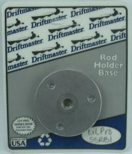 "Driftmaster SSRB-1 Round Flush Mount Base Fits 3/8"" Dia. Stem 26629"