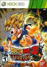 Dragon Ball Z: Ultimate Tenkaichi (Microsoft Xbox 360, 2011)