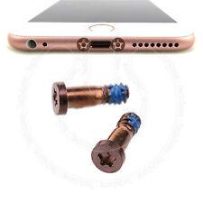 2 x Bottom Screws Pentalobe Rose Gold 2 pcs set for Apple iPhone 6S & 6S Plus