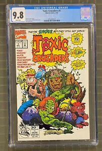 TOXIC CRUSADERS #1 Marvel Comics 1992 CGC 9.8