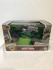 Used Remote Control Full Function Monster Jam Grave Digger 1:15 Scale New Bright