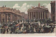 The Bank and Exchange, London, F.G.O. Stuart 883 Postcard B808