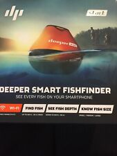 Deeper Smart Fishfinder Start, Wireless Wi-fi Enabled Fish Finder
