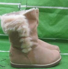 New ladies skitone  Winter Flat Ankle Boot Fur Inside Size 8.5