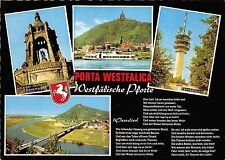 B67797 Germany Porta Westfalica boats bateaux multiviews