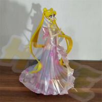 Sailor Moon Tsukino Usagi Pink Wedding Dress PVC Figura 25cm Juguetes