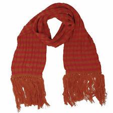 Men's Women's PUMA Heritage Scarf Orange and Red Striped $35