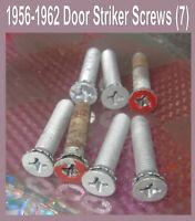 Corvette 1956  1957 1958 1959 1960  Door Striker Original 7 Fine Thread Screws