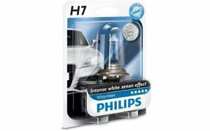 1x PHILIPS Ampoule H7 WhiteVision pour CITROEN C3 RENAULT MEGANE 12972WHVB1