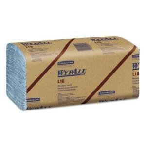 Kimberly-Clark 05123 L10 Windshield Towels, 9 1/10 X 10 1/4, 1-ply, L-blue,